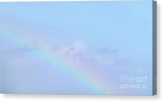 Canvas Print - Rainbow Clouds And Sky by Francesca Mackenney