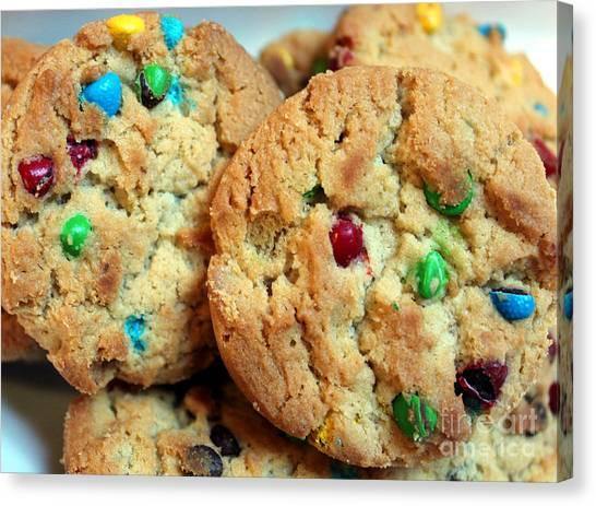 Rainbow Cookies Canvas Print