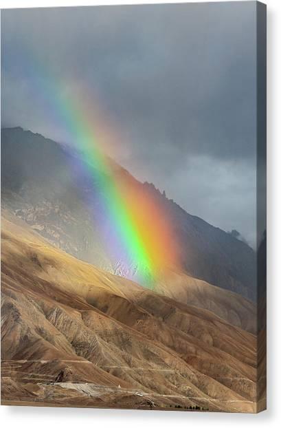 Rainbow, Kaza, 2008 Canvas Print
