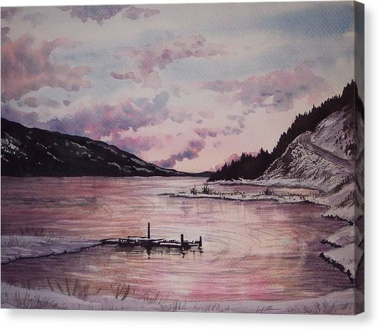 Rainbow Lodge Bay Canvas Print