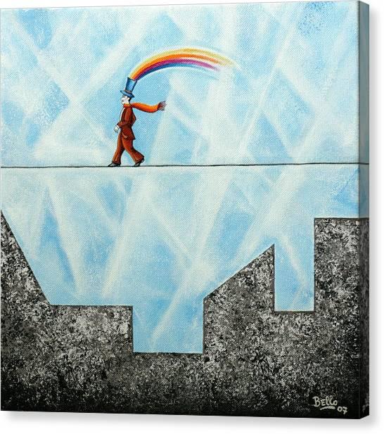 Rainbow Man Canvas Print