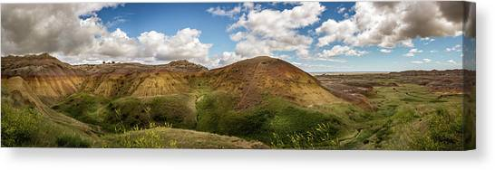 Rainbow Mountain Canvas Print