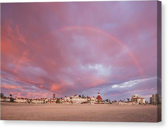 Rainbow Proposal Canvas Print