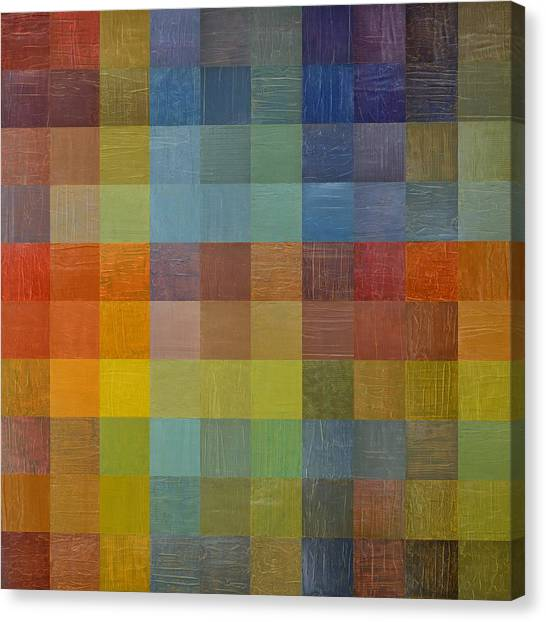 Rainbow Rustic Canvas Print