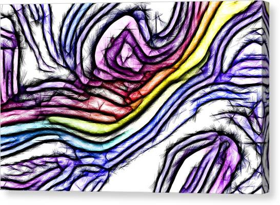 Rainbow Slide 1 Canvas Print