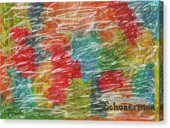 Rainbow Sparkle Canvas Print