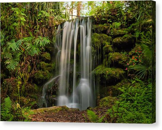 Rainbow Springs Waterfall Canvas Print