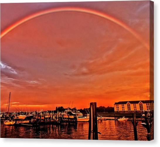 Rainbow Sunrise Canvas Print
