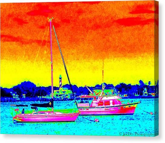 Rainbow Tide Canvas Print