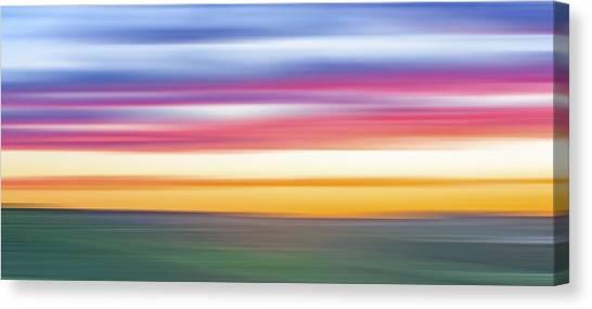 Lavendar Canvas Print - Rainbow Withouut Water X by Jon Glaser