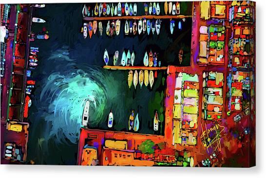 Rainbowts Canvas Print