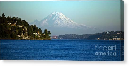 Mount Rainier Canvas Print - Rainier Vista by Mike Reid
