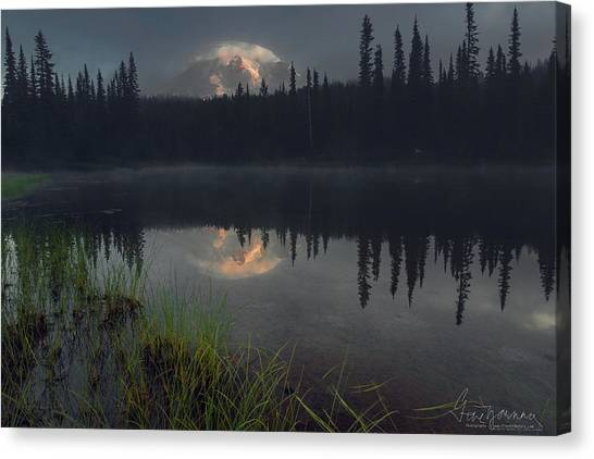 Rainier's Mood Canvas Print