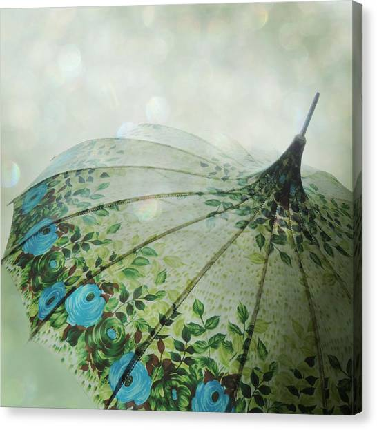 Raining Bokeh Canvas Print