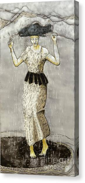 Canvas Print - Rainmaker by Andrea Benson