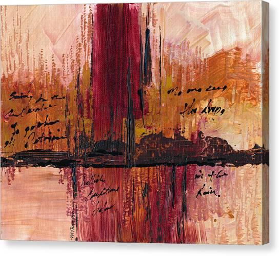 Rains Down Hell Canvas Print