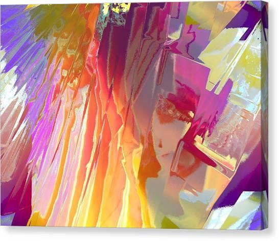 Rainshower Canvas Print