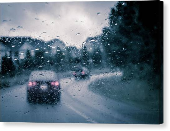 Rainy Day In June Canvas Print