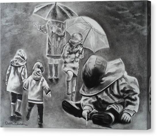 Rainy Daze Canvas Print