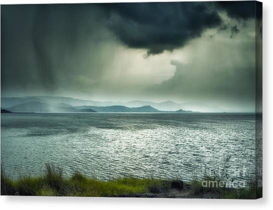 Rainy Mood Canvas Print