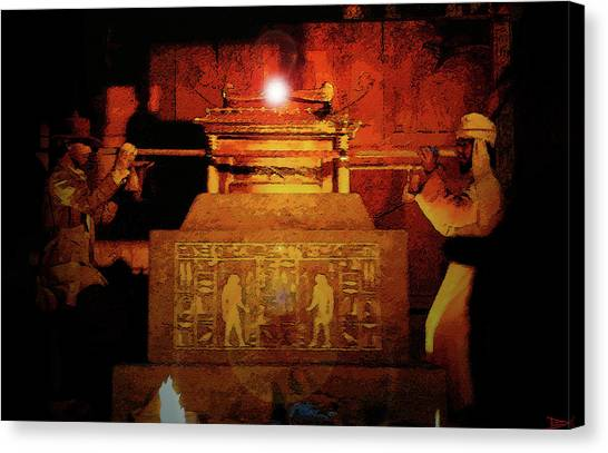 Raiders Of The Lost Ark Canvas Print - Raising The Ark by David Lee Thompson