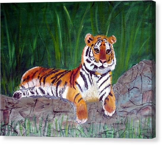 Rajah Canvas Print by Marcia Paige