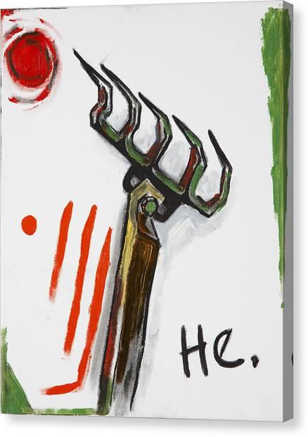 Rake Canvas Print