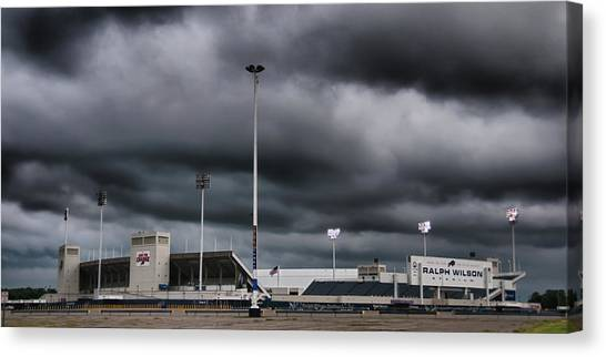 Ralph Wilson Stadium 5803 Canvas Print