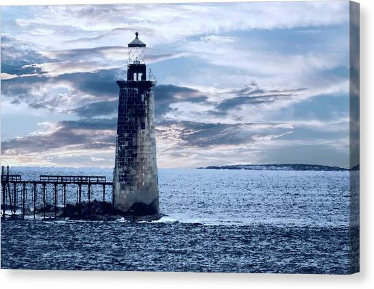 Ram Island Head Lighthouse.jpg Canvas Print