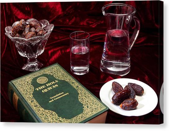 Ramadan Evening Canvas Print