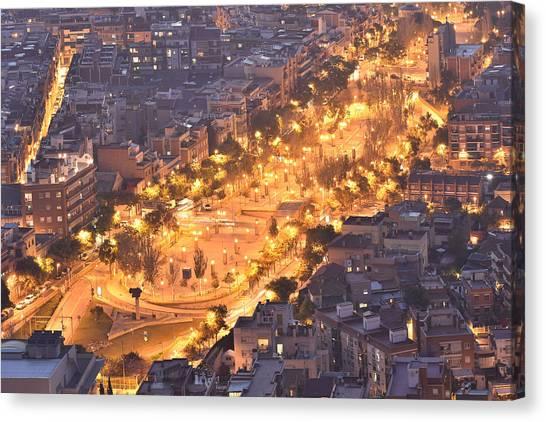 Rambla Del Carmel Barcelona Canvas Print