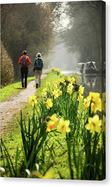 Rambling On Canvas Print