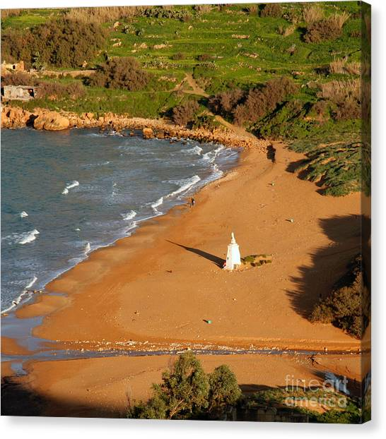 Ramla Bay Canvas Print by Sascha Meyer