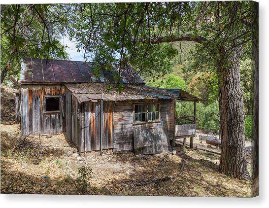 Ramsey Canyon Cabin Canvas Print
