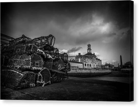 Ramsgate Lobster Pots  Canvas Print