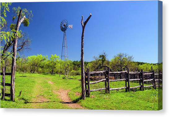 Ranch At Click Gap II Canvas Print