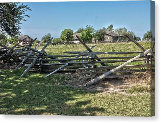 Ranch View1 Canvas Print