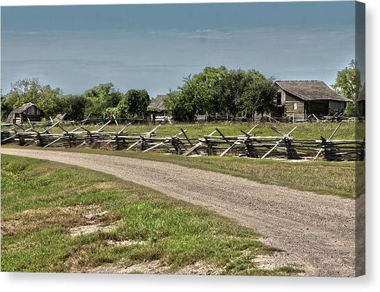 Ranch View3 Canvas Print