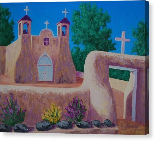 Rancho De Taos II Canvas Print