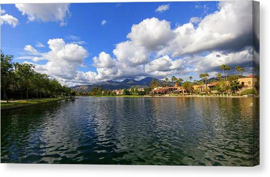 Rancho Santa Margarita Lake Canvas Print