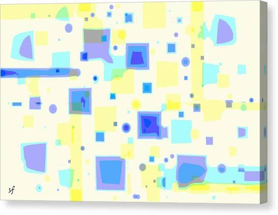 Random Blips Canvas Print
