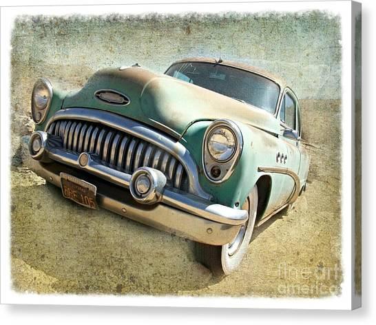 Randsburg Buick Canvas Print