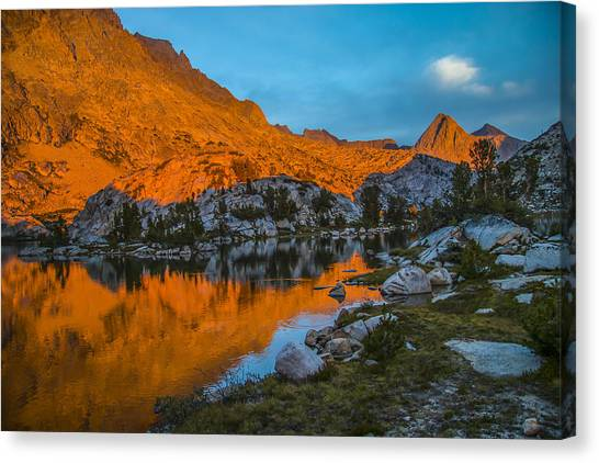 Range Of Light Canvas Print