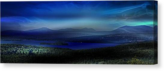 Rangeley Magic Sunset Canvas Print