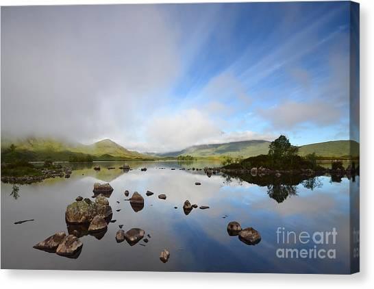 Mountain Canvas Print - Rannoch Moor by Smart Aviation