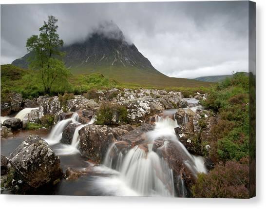 Rannoch Moor Landscape Glencoe Landscape Canvas Print