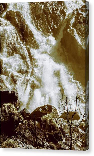 No People Canvas Print - Rapid River by Jorgo Photography - Wall Art Gallery