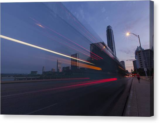 Rapid Transit Canvas Print