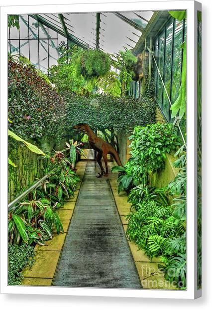Raptor Seen In Kew Gardens Canvas Print