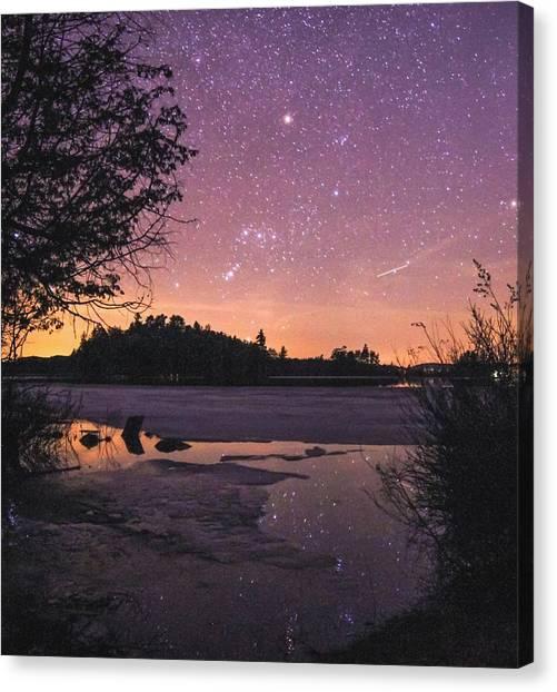 Raquette Lake Canvas Print